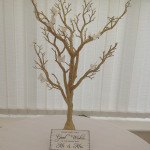 Gold Wishing Tree
