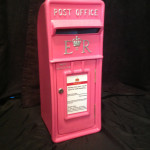 Pink  Mail Box £35.00