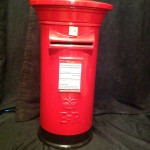 Tall Red Post Box £35.00