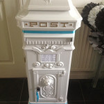 White Antique Mail Box £35.00